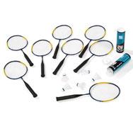 Kit bádminton mini raquetas para 8 niños el conjunto