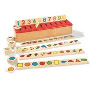 Caja de clasificación inspiración montessori el conjunto