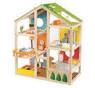 Casa de muñecas  amueblada el conjunto