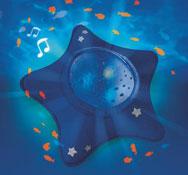 Lámpara de noche proyector de ambiente estrella de mar la unidad