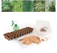 Kits de semillas aromáticos bio el conjunto