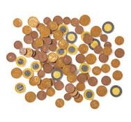 100 monedas de euro el conjunto