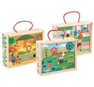 Maxi lote caja de puzzles lote de 3