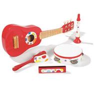 Kit musical confetis el conjunto
