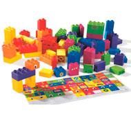 Ladrillos de construcción ecológicos 100 piezas el conjunto