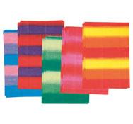 Papel de seda 18 g multicolores lote de 50