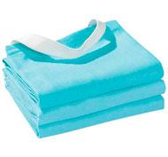 Servilletas de mesa tejidas con goma elástica lote de 3