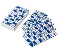 Cartas para un juego de bingo gigante lote de 96