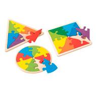 Maxi lote puzzle geométrico lote de 3
