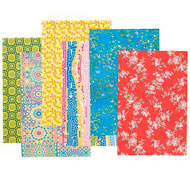 Hojas de papel decopatch flores lote de 30