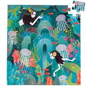 Puzzle aventura imaginaria paraíso acuático la unidad