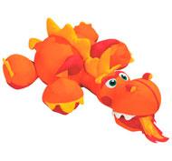 Cojines animales gigantes nick el dragón fantástico la unidad