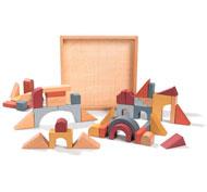 Bloques de construcción multiformas lote de 44