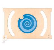 Barrera de separación trendy rueda con espiral la unidad