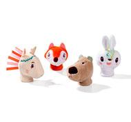 Marionetas de dedos bosque lote de 4