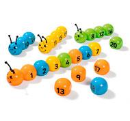 Números magnéticos 1-20 el conjunto