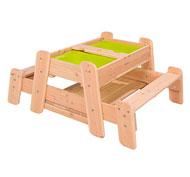 Mesa de picnic elementos el conjunto