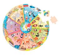 Puzzle xxl descubrimiento del mundo la unidad