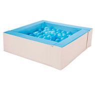 Mini piscina de bolas basic con bolas el conjunto