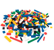 Ladrillos de construcción 500 piezas con caja el conjunto