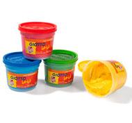 Gouache de dedo colores primarios be-bè 4 x 150 ml lote de 4