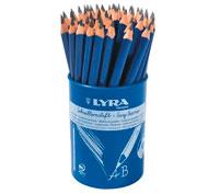 Lápices de grafito ergonómicos groove x48 lote de 48