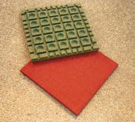 Baldosa suelo seguridad grosor 5,50 cm  el m2