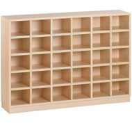Mueble zapatero 30 casillas horizontal