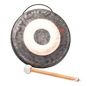 Gong chino con maza 30cm