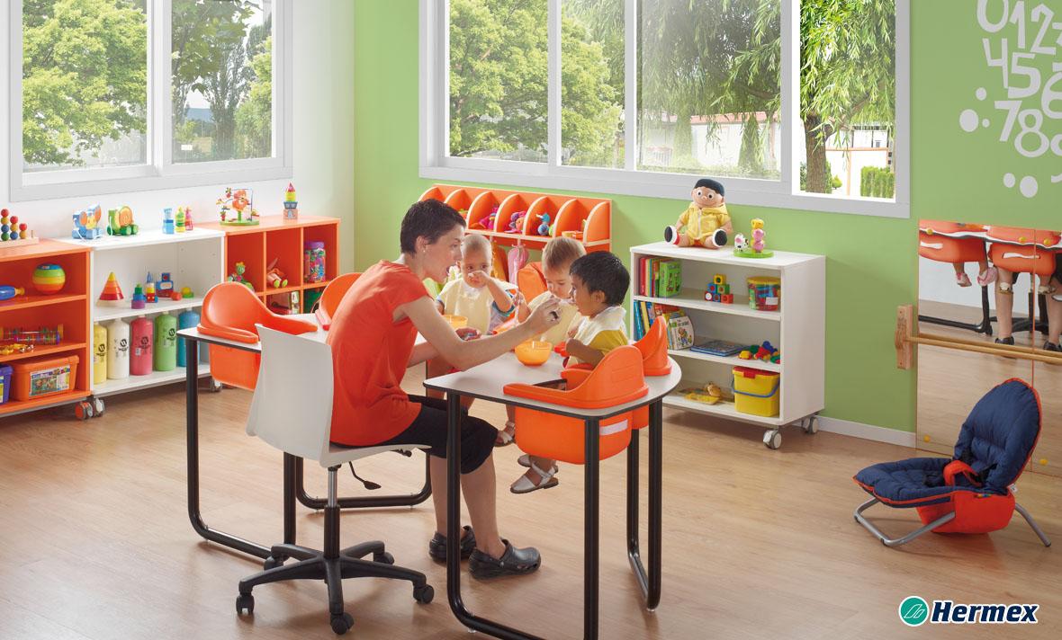 Aulas de Bebes - Tronas