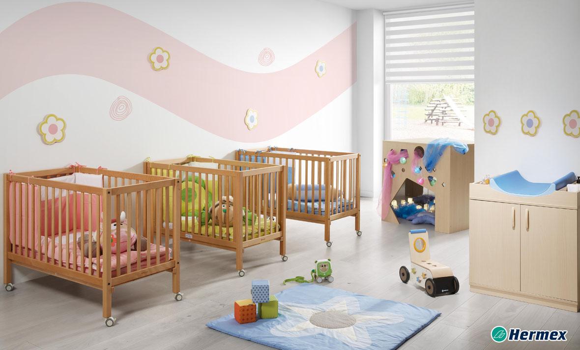 Aulas de bebes - Sala Dormitorio