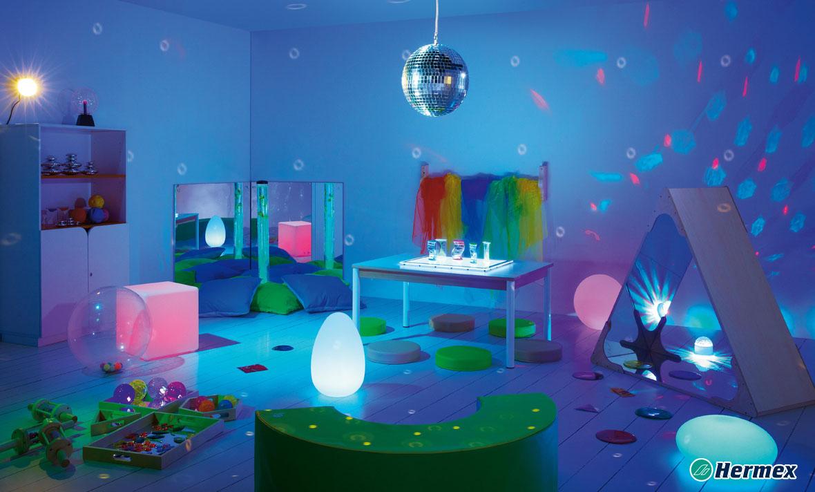 Aulas Multisensorial - LED