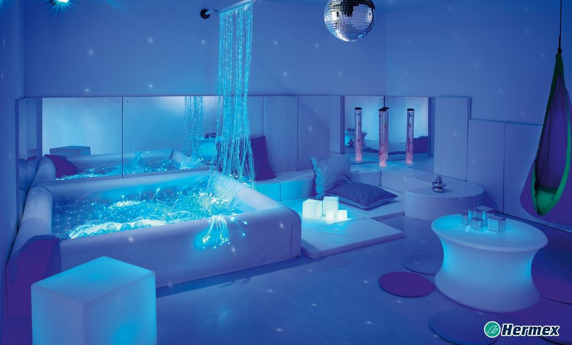 Aulas Multisensorial - LED Azul