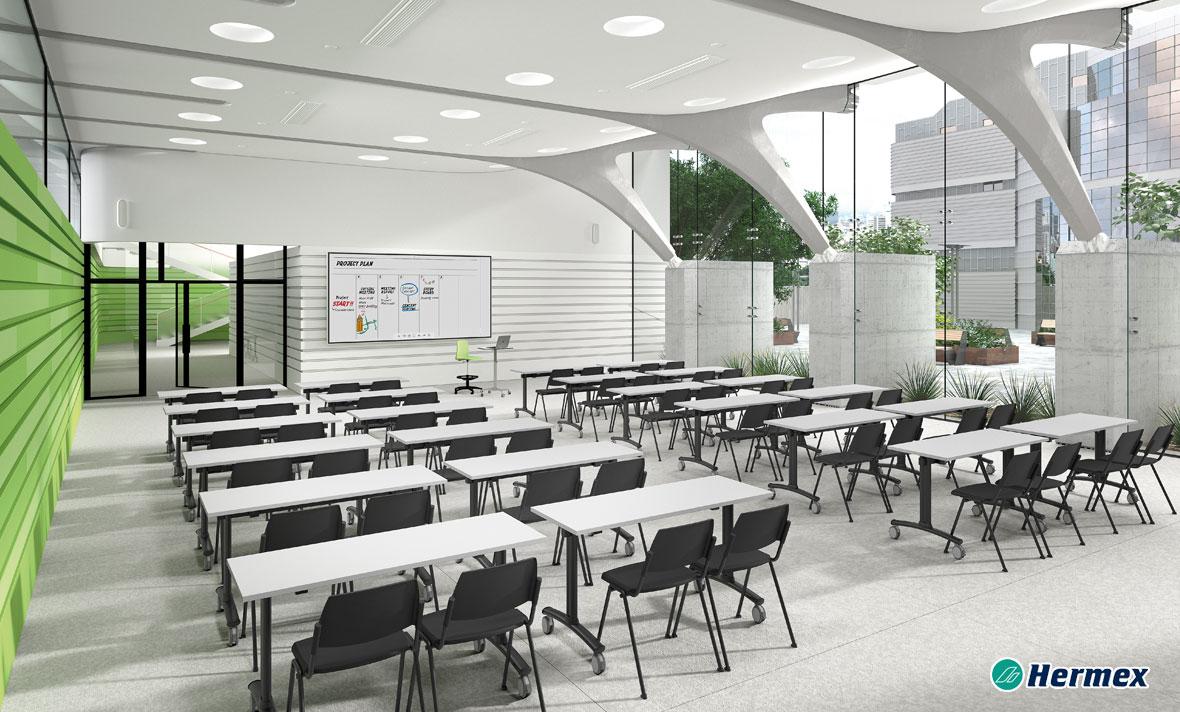 Aulas de Educación Secundaria - Pupitre Academy