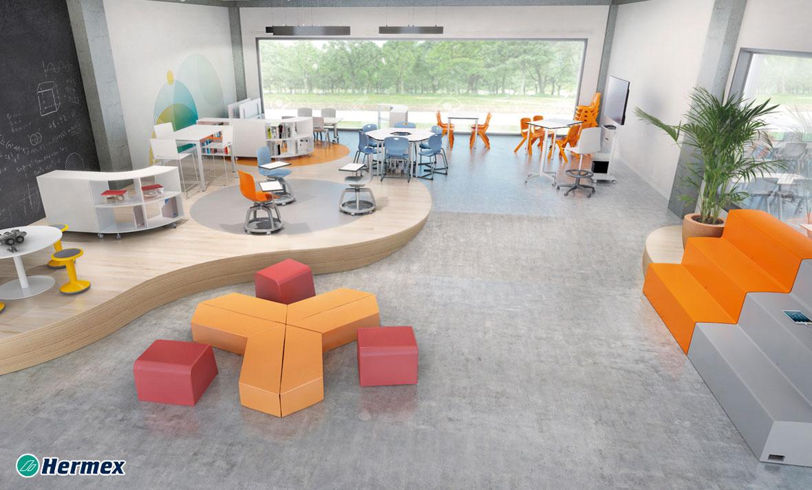 Aulas de Educación Secundaria - Aulas del Futuro