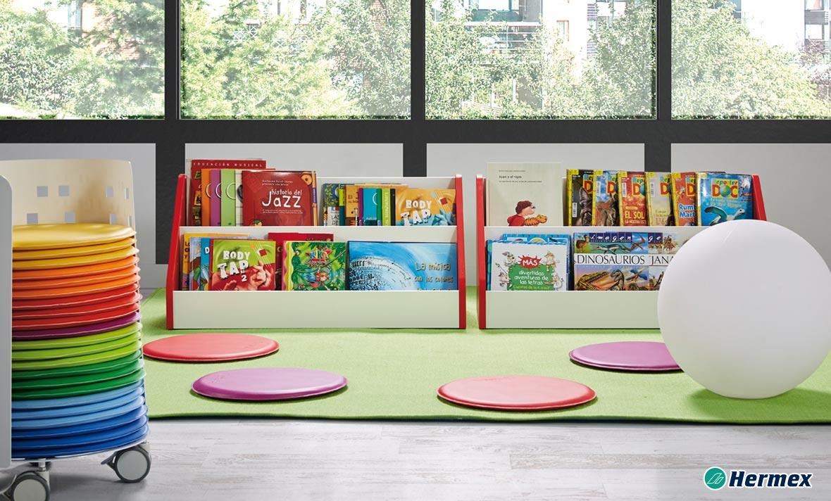 Biblioteca Escolar - Carro Cojines