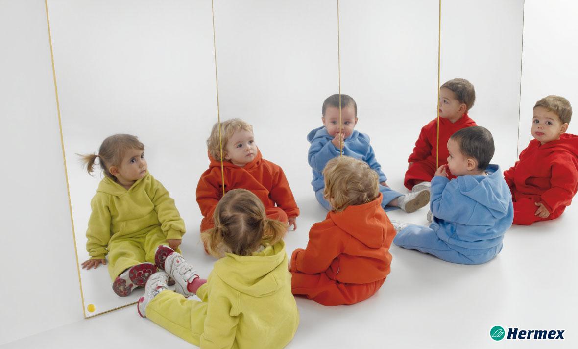 Espejos para aulas - Espejos de pared 50x100