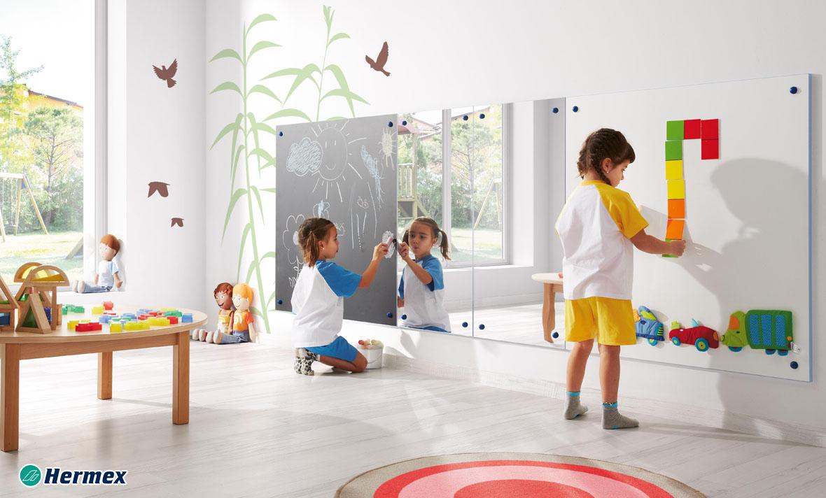 Espejos para aulas - Pizarra y Espejo