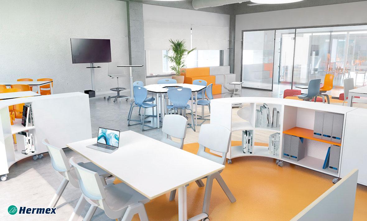 Aulas de Educación Secundaria - Zonas de Aprendizaje