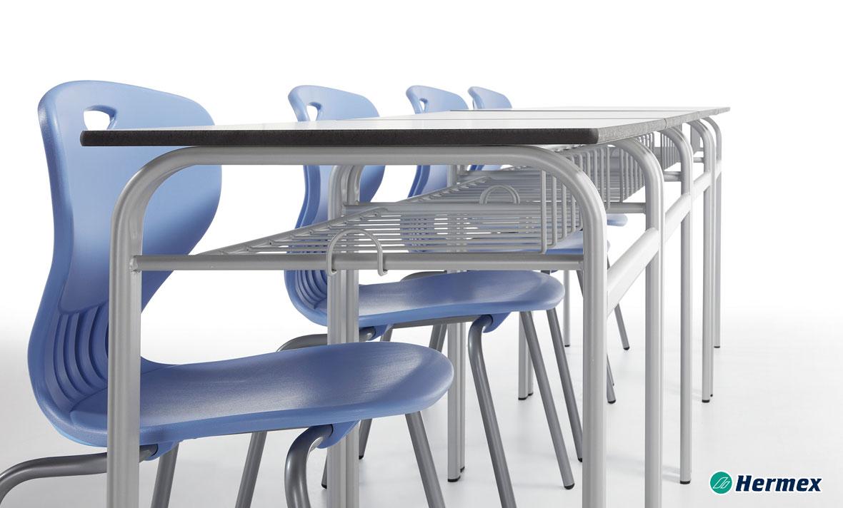Aulas de secundaria - Pupitre easy y sillas