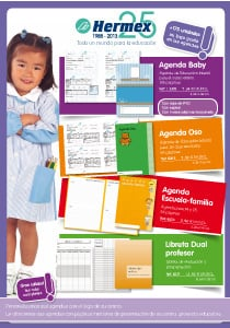 AGENDAS ESCOLARES y PACKS TEXTIL